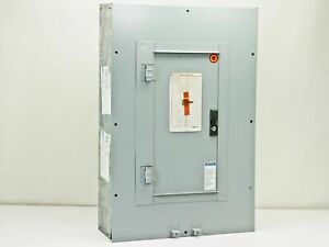 Westinghouse Pow r Line Panel Board In Enclosure prl1