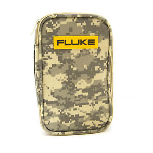 Fluke Camo c25 Camouflage Carrying Case For Multimeters Process temp