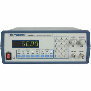 Bk Precision 4005dds 5 Mhz Dds Function Generator 1 Hz To 5 Mhz Frequency