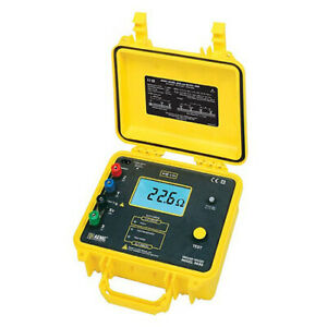 Aemc 4630 Ground Resistance Tester digital 3 point Auto ranging And Ac