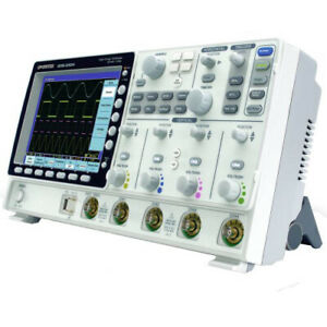 Instek Gds 3354 350 Mhz 4 Channel Color Digital Storage Oscilloscope