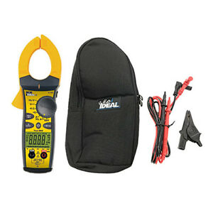 Ideal Electrical 61 765 True rms Ac dc Clamp Meter Tightsight Display