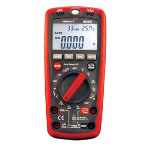 Triplett 9055 6 in 1 Cat Iv Autoranging Digital Multimeter