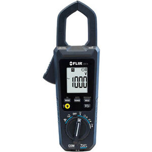 Flir Cm74 600a Ac dc True rms Commercial Clamp Meter W vfd And Inrush