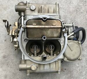 Holley Carburetor 600 Cfm 80457 1 Vacuum Secondaries Electric Choke