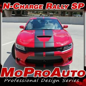 2015 2017 Charger Scat Pack 392 Hellcat Rally Racing Stripe Decal Vinyl Graphic
