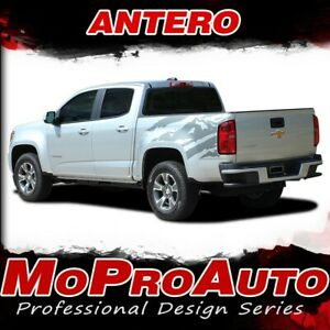 2019 Chevy Colorado Antero Rear Truck Bed Vinyl Graphic Stripe Decals 3m Pro Ch3