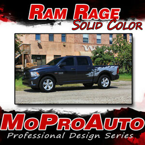 2010 For Dodge Ram Rage Solid Color Truck Bed Vinyl Graphics Decals Stripes R13
