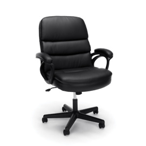Essentials By Ofm Leather Executive Chair Ergonomic Managers Computer office
