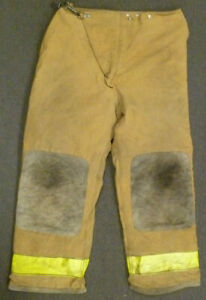40x30 Globe Tan Firefighter Pants Turnout Bunker Fire Gear P027