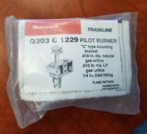 New Old Stock Honeywell Q303c 1229 Pilot Burner