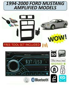 1994 2000 Ford Mustang W Amp Cd Am Fm Bluetooth Usb Aux Mp3 Car Stereo Pkg
