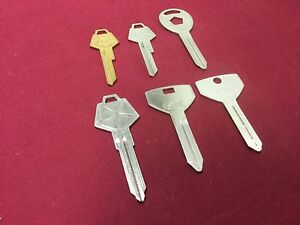 Chrysler Automotive By Esp Curtis Key Blanks Set Of 6 Locksmith