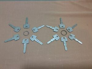 Chevrolet 1972 1980 By Curtis Luv1 2 Kywy Key Blanks Set Of 12 Locksmith