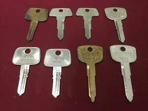 Honda By Curtis Automotive Hd71 Hd79 Hd70 Key Blanks Set Of 8 Locksmith