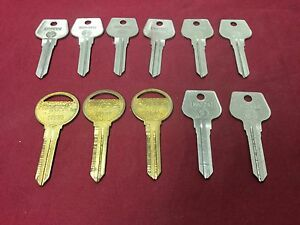 Mazda By Curtis Esp Automotive Mz14 Mz10 Key Blanks Set Of 11 Locksmith