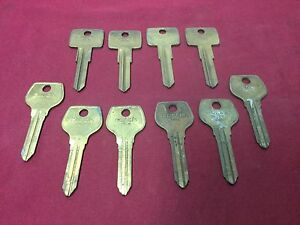 Volvo Mazda By Curtis Vl6 Mz9 Automotive Key Blanks Set Of 15 Locksmith