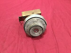 Vintage Mosler Safe Combination Lock Parts Unit locksmith