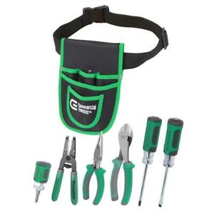 7 piece Electrician s Tool Set With Pouch
