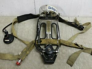 Drager Pa 80 fs Backpack Scba Harness National Draeger P n 4053241