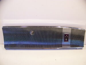 1964 Chrysler Imperial Glovebox Lid Door W Latch Oem Lebaron Crown Coupe