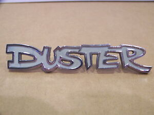 1972 76 Plymouth Duster Fender Rear Tail Panel Emblem 3680304 73 74 75