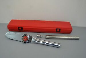 Snap on Tools 3 4 Drive Torqometer Us Basic 350 Ft lbs Torque Wrench Te352a