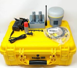 Trimble R10 Base rover Uhf Gnss Surveying Receiver Glonass Galileo Xfill 4