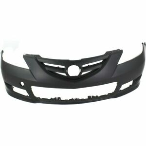 Bumper Cover For 2007 2009 Mazda 3 Sedan Sport Type Front Paint To Match