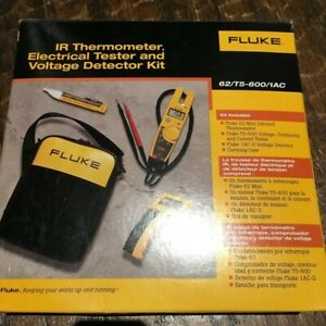 New Fluke Ir Thermometer Electrical Tester And Voltage Detector 62 t5 600 1ac