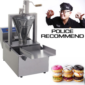 Professional Compact Donut Fryer Maker Making Machine 80 Pc h Small Business