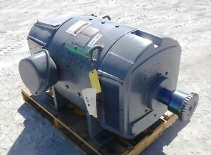 125 Hp Dc General Electric Motor 1150 Rpm 506at Frame Dpfv 500 V