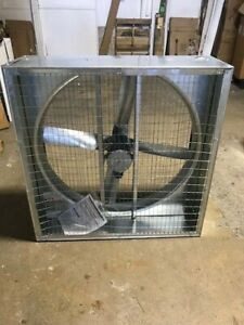 Dayton 6ly24 Agricultural Exhaust Fan 36 In 115 230 V New Free Shipping