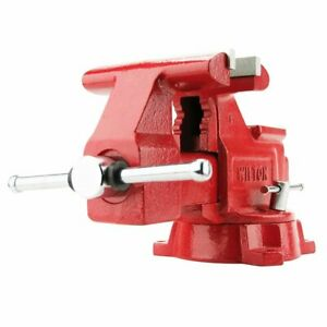 Wilton 11800 Utility Workshop Bench Vise 648h 8 Jaw Width 7 1 2 Jaw Opening