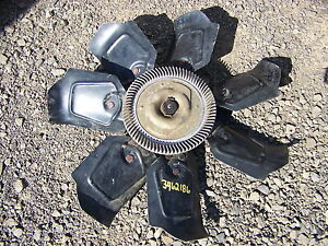 1973 Dodge Charger Fan 3462186 400 Bb 74 75 76 Monaco Plymouth Fury