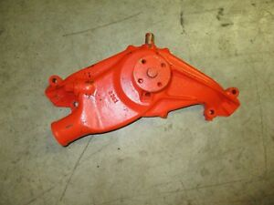 Reman Cast Iron Water Pump 348 409 Car Engine Impala Biscayne Bubble Top