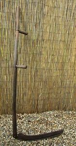 Scythe Snath 24 5 Sickle Blade 61 Wooden Handle Country Display Halloween