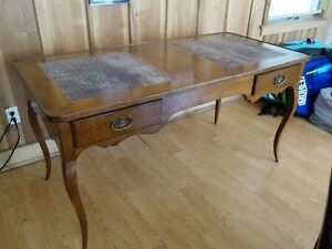 De Bournay French Louis Xvi Provincial Style Writing Table Antique Desk