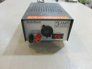 Radio Shack Model 22 504 13 8vdc 3 Amp Power Supply Free Shipping