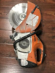 sold Stihl Ts 420 Concrete Cut off Saw Used Pre owned