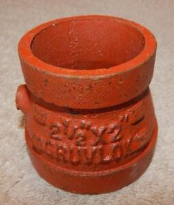 Gruvlok 2 1 2 X 2 Concentric Reducer Fig 7072 new Other Ts1