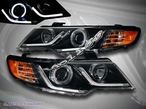 Fit 2010 2013 Forte Coupe Forte Ccfl Halo Rim R8 Strip Projector Headlights G2