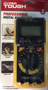 Ht Professional Digital Multimeter Full Range Ac Dc Voltage Temperature Nib