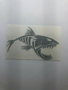 Skeleton Fish Vinyl Decal Sticker Car Truck Window