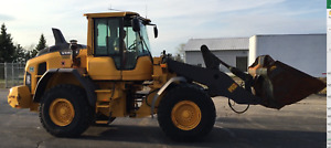2015 Volvo L90h Wheel Loader 8 250 Hours Long Boom Tier 4 Final Color Camera