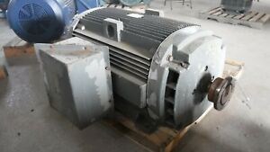 300 Hp General Electric Motor 3600 Rpm 449ts Frame Dp 2300 V 1 15 S f