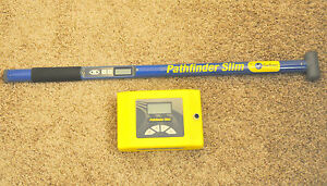 Comsonics Pathfinder Slim Cable Pipe Locator Clean Radiodetection