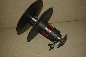 rt South Bend 14 Fourteen Lathe Variable Speed Pulley Motor Side p24