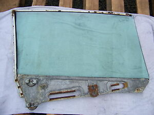 1964 65 66 Chrysler Imperial 2 Door Lh Door Window Glass Crown Coupe 2491055