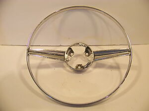 1965 66 Plymouth Belvedere I Ii Steering Wheel Horn Ring Oem Satellite Wagon